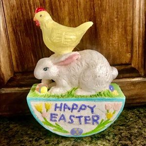 In Box Easter Bunny Chick Decoration